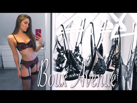 LINGERIE REVIEW | TRY-ON | BOUX AVENUE