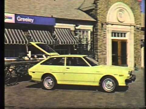 Toyota Colorado 1977 TV commercial