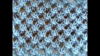 Ажурная сетка с обвитыми петлями