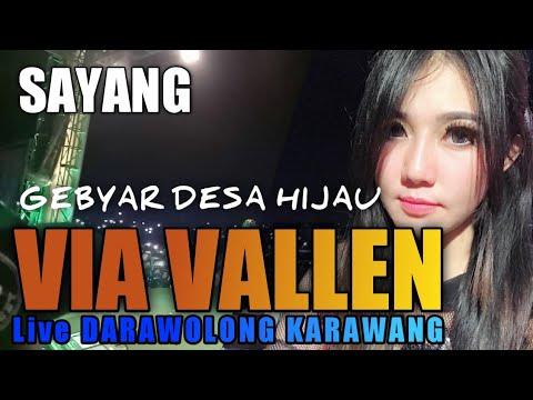 SAYANG Via Vallen Live in Darawolong KARAWANG