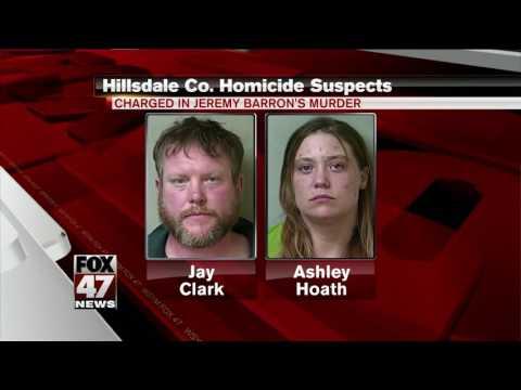 Man, women suspects in Hillsdale County homicide