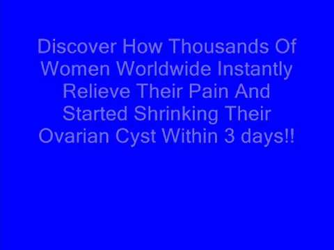 ovarian cyst cancer symptoms