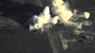 Russian Airstrike in the area of Salma in Syria in the past 24 hrs