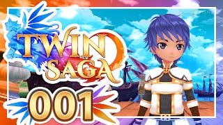 twin Saga / Astral Realm #001: Neues Anime-MMORPG 2016  Twin Saga Gameplay German