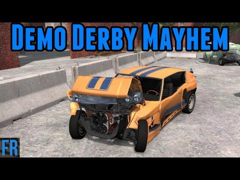 Demo Derby Mayhem - BeamNG Drive