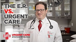 The Difference Between Emergency Room and Urgent Care | AFC Urgent Care - Fairfield, CT
