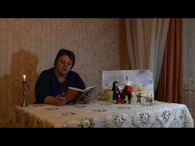 Изображение предпросмотра прочтения – СветланаПодорожная читает произведение «Страшная месть» Н.В.Гоголя