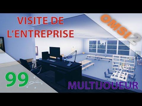 [OMSI 2] [BCS] Episode n°99 : Multijoueur : Visite de l'entreprise Transports Zenix !