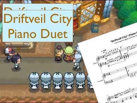Driftveil City Piano Duet Pokemon Black White 2 Youtube Последние твиты от driftveil city parody group (@city_driftveil). youtube