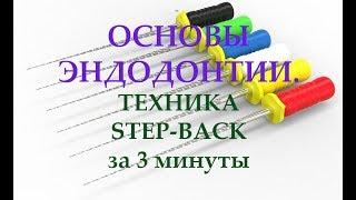 Эндодонтия.Техника Step-back.