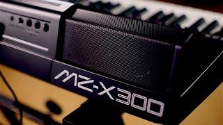 Casio MZ-X300 and MZ-X500 Arranger Keyboard Demo