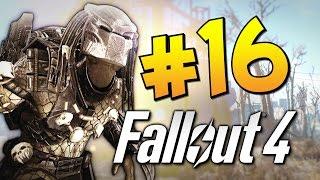 Прохождение Fallout 4 - Бой с Охотником Жестяк 16 60 FPS