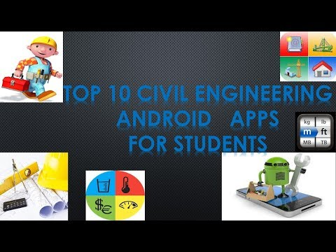 TOP 10 CIVIL ENGINEERS ANDROID APPS FOR STUDENTS
