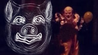7 Disturbing and Bizarre News Stories 8/11/16 - 9/12/16│Creepy Clowns, Pig Masks, Bloody Rivers