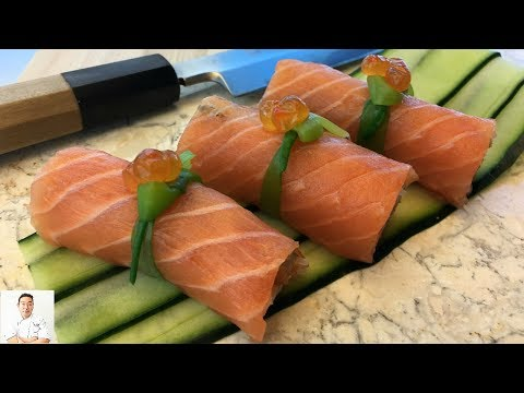 Salmon Everything Roll | How To Make Sushi Series