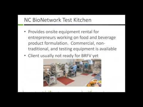 Archived Webinar: SBCs & Kitchen Incubators in North Carolina