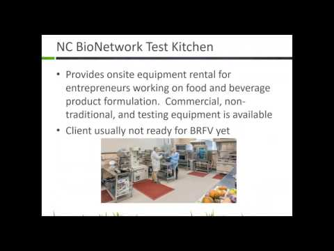 Archived Webinar: SBCs & Kitchen Incubators In North Carolina