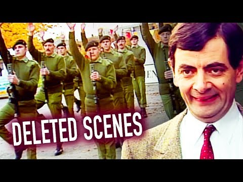 MILITARY Bean | RARE UNSEEN Clips | Mr Bean Official