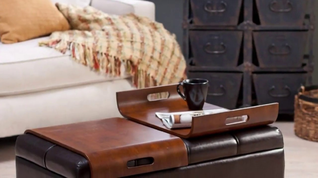 Cushioned Coffee Table With Storage Uk