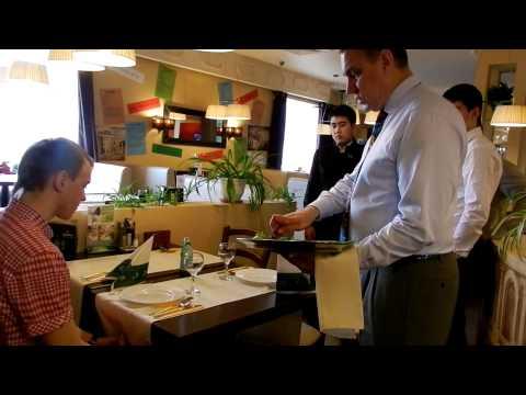 4-е занятие Школы официантов