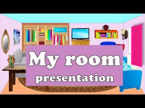 My Room. Моя комната. English For Kids. Английский для детей.
