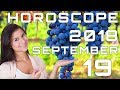 Today's Daily Horoscope 19 September 2018 Each Zodiac Signs