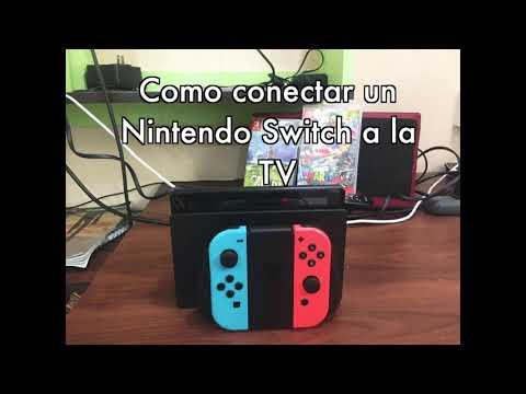 Como conectar la Nintendo Switch a la Television