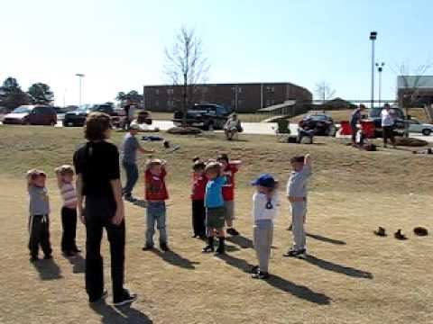 """Upward TBall Practice - Warm Up Exercises - """"The Generals"""""""