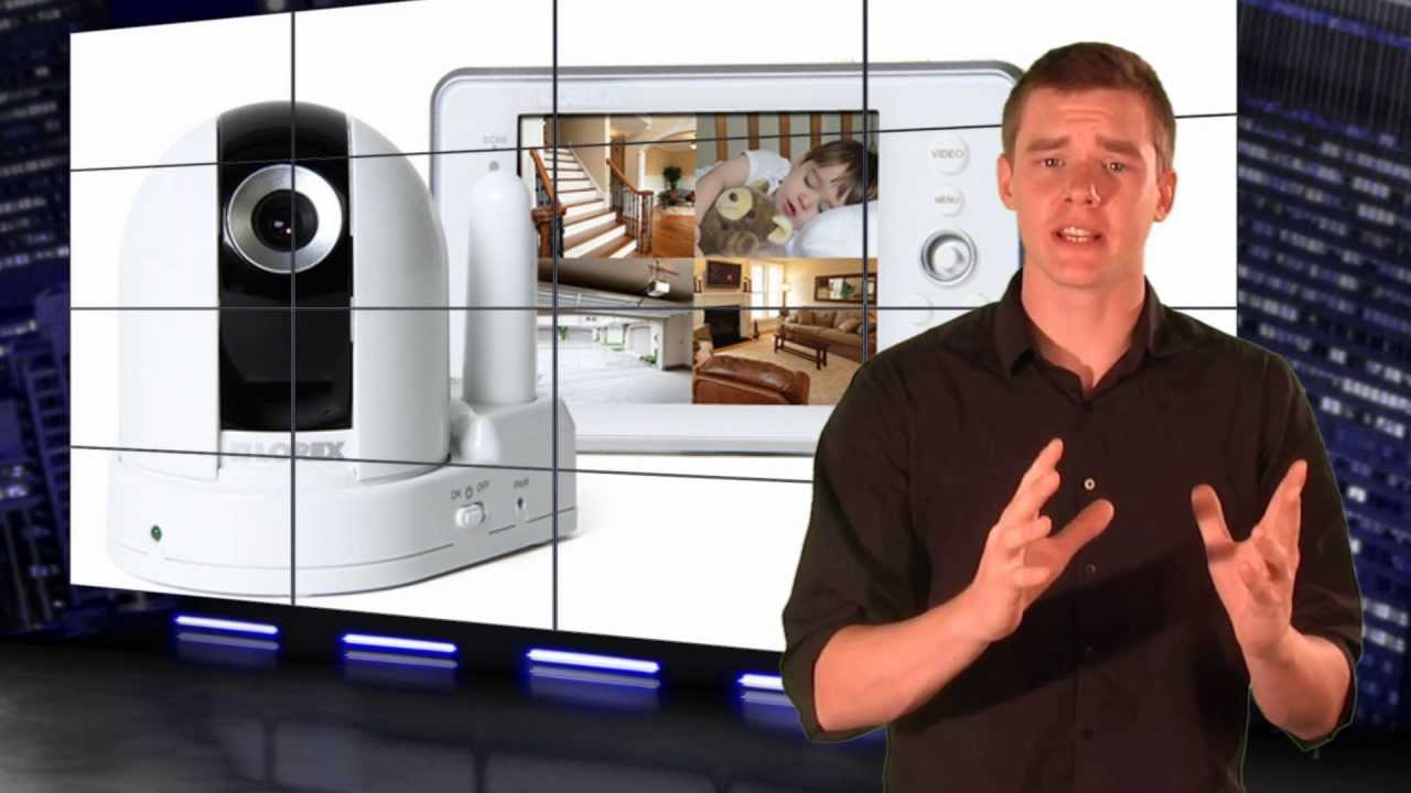 Lw2450 Lorex Video Baby Monitor W Pan Tilt Camera