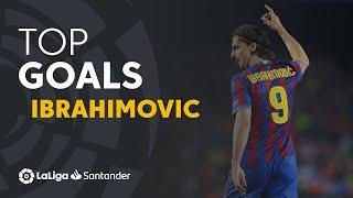 TOP Goles Zlatan Ibrahimovic LaLiga Santander
