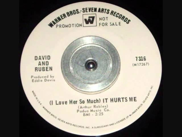 David Ruben I Love Her So Much It Hurts Me Chords Chordify