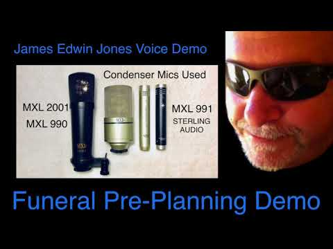 VOICE-OVER DEMO 3 - FUNERAL PRE-PLANNING - James Edwin Jones Voice