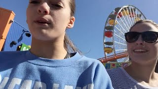 Santa Monica Pier Vlog! California Day 1