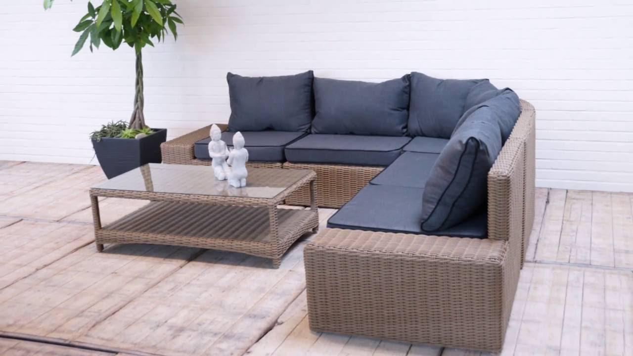 Lounge Set Tuin : Loungeset modena tuinmeubelen voor uw tuin en terras loungeset
