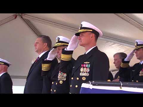 USS Portland (LPD-27) Commissioning Ceremony