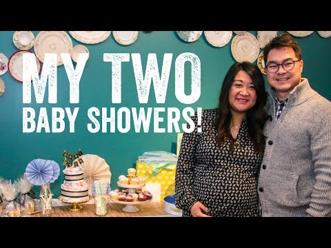 My TWO Baby Showers! | My Tea Party Baby Shower