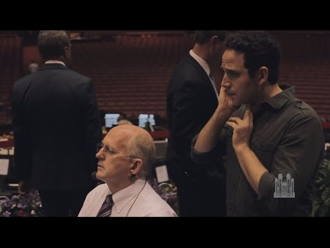 Behind-the-Scenes: Santino Fontana on his Experience with the Choir
