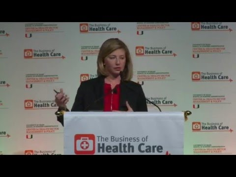 The Business of Health Care: Going Global - Keynote Speaker: Mary Miller Sallah