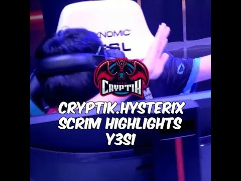 [APAC Rainbow 6] Team CryptiK HysteRiX scrim highlights with comms for Y3S1