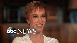 'I just won't go down': Kathy Griffin on making her comeback after Trump scandal