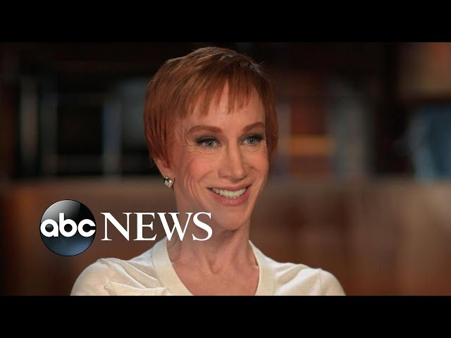\'I just won\'t go down\'\: Kathy Griffin on making her comeback after Trump scandal