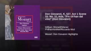 Don Giovanni K527, ATTO PRIMO, Scena terza: Finch