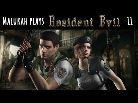 Malukah Plays Resident Evil 1 - Ep. 11