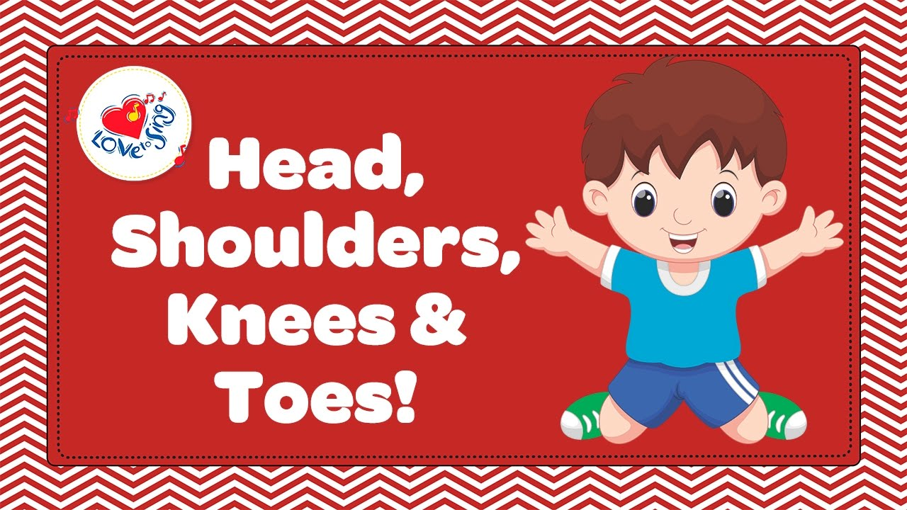 Head Shoulders Knees And Toes Clipart