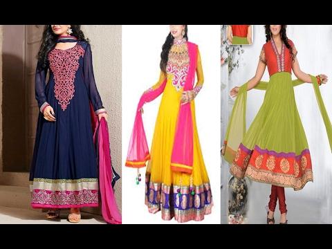 Anarkali Dress Ladies Salwar Kameez Kurti Suit Latest Fashion For Girls 2016 2017
