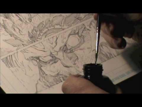 Scott Williams speed inking