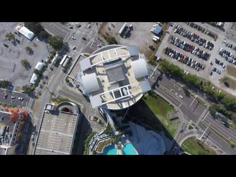 Phantom 4 Pro Drone Flight - Tampa Bay
