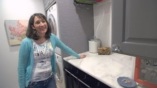 You Won't Believe What This Mother of 6 Did to Totally Rock Her Laundry Space thumbnail