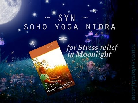Yoga Nidra for Stress relief / Soho Yoga Nidra ~ SYN ~ for Stress relief  in Moonlight