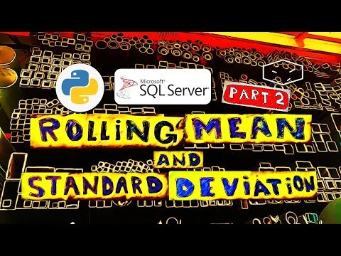 Python - Rolling Mean And Standard Deviation - Part 2